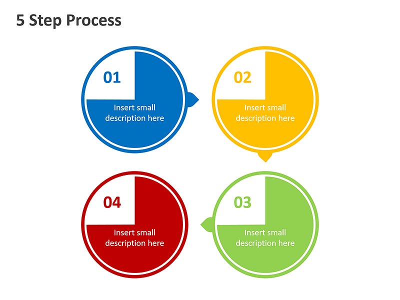Step by Step Process Diagram - PowerPoint Slide