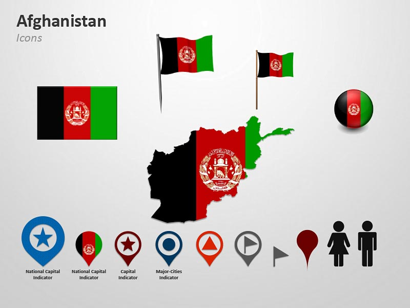 Clipart for Afghanistan