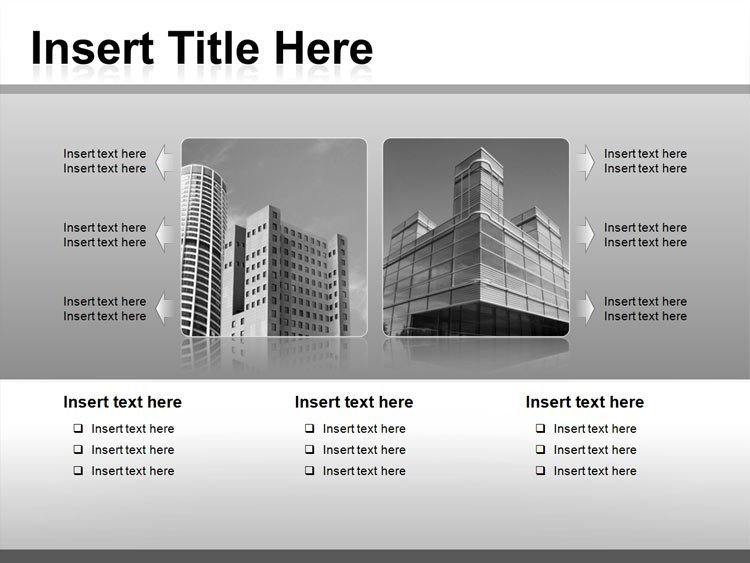 PPT Template for Architecture