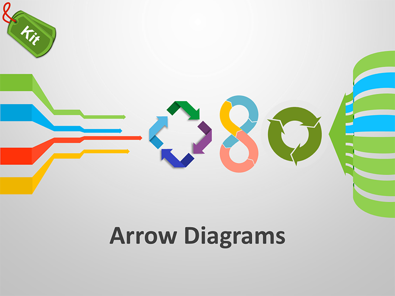 Arrow Diagram Slide Kit - Editable PowerPoint Presentation