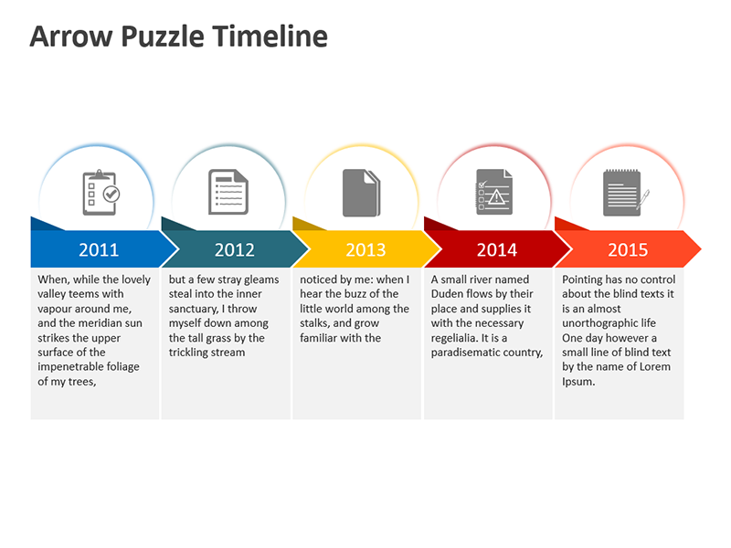 Corporate Timeline - Editable PowerPoint Presentation