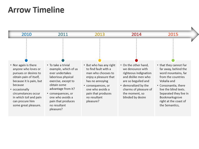 Marketing Timeline - Editable PPT Slide