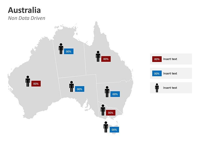 PPT Map of Australia - Business Data