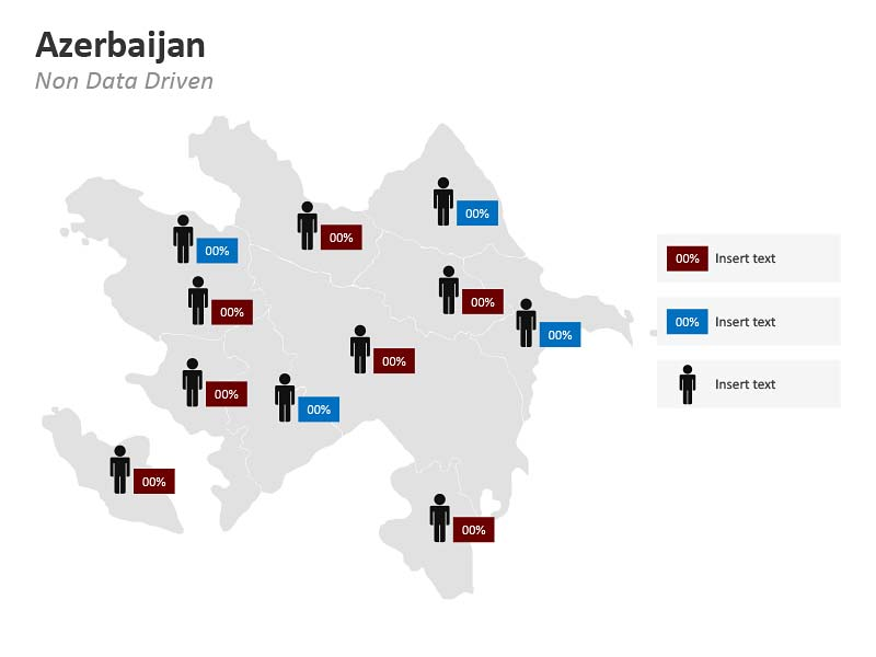 Density Population Map of Azerbaijan PPT