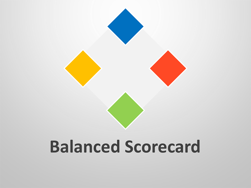 Balanced Scorecard Template - Editable PowerPoint Presentation