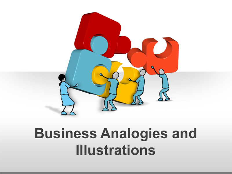 Business Life Analogies PPT Illustrations