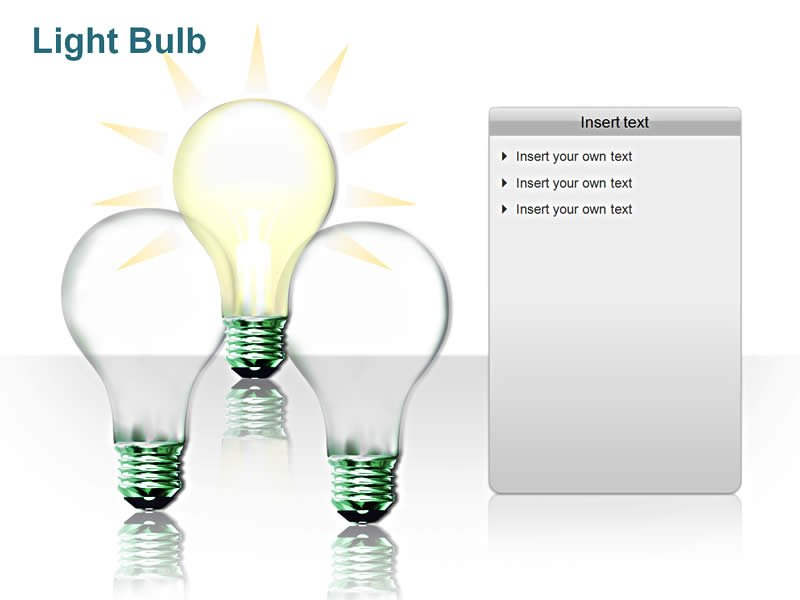 LightBulb PPT Templates