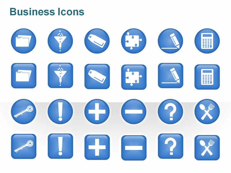 Business Communication PowerPoint Cliparts