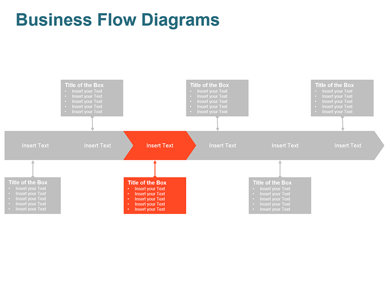 Process Arrow Analysis - Powerpoint Slide
