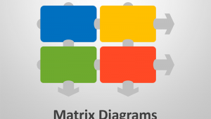 Matrix Diagrams - Business Presentation Graphics
