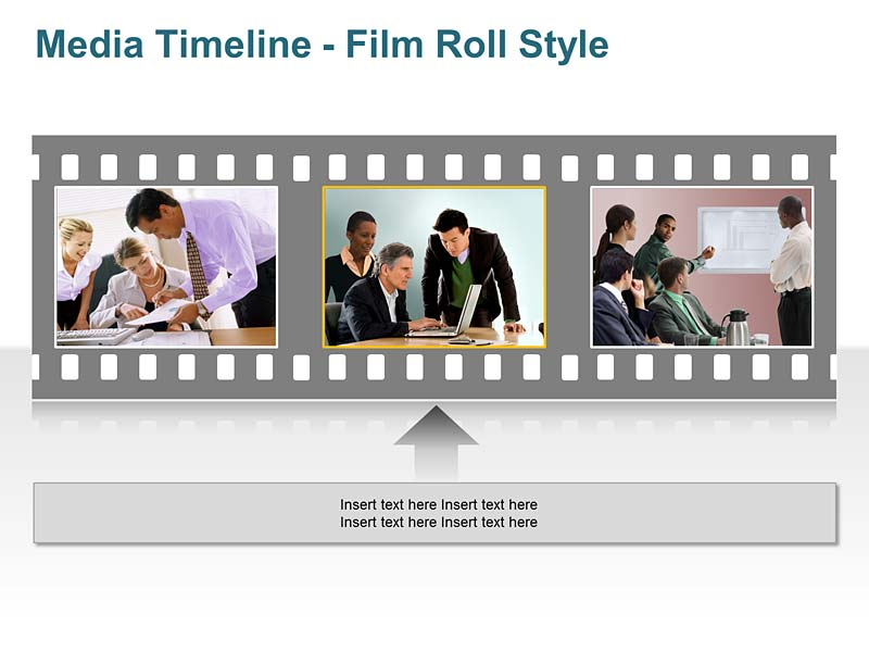 Unique Timeline PowerPoint Slide