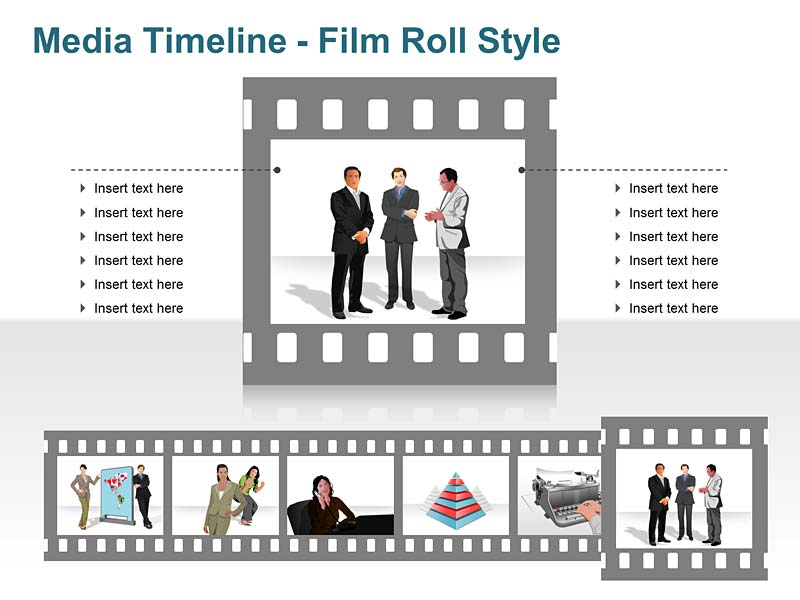 Creative Timeline - Editable PowerPoint Slide
