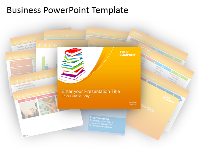 Business PowerPoint Template Editable Presentation Slide