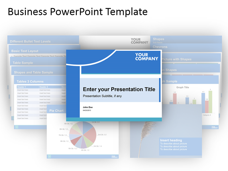 Editable PowerPoint Sales Presentation Template