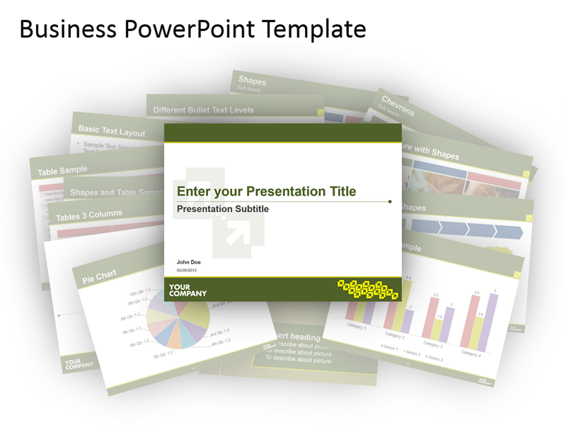 Business Templates PowerPoint Bundle