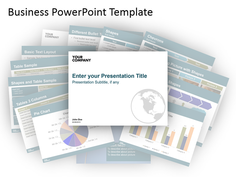 Business Presentation Templates PowerPoint Bundle