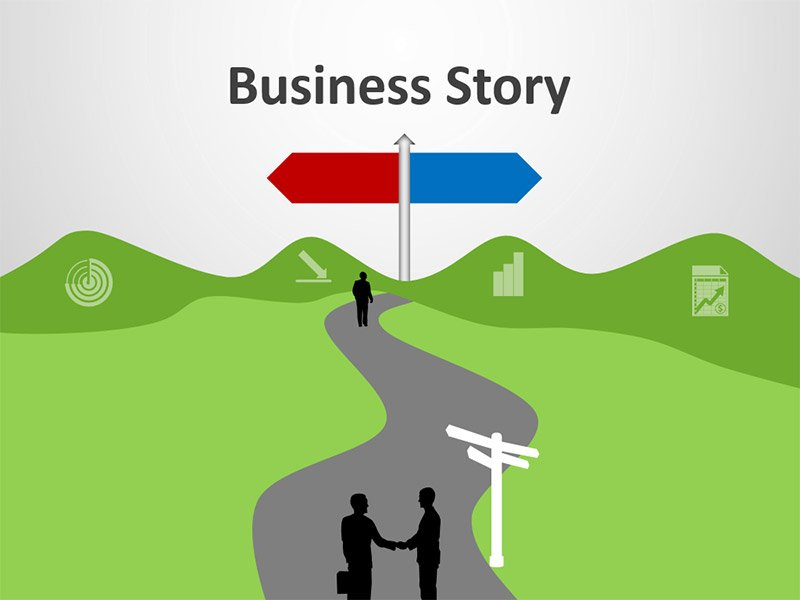 Business Story - Editable PowerPoint Presentation