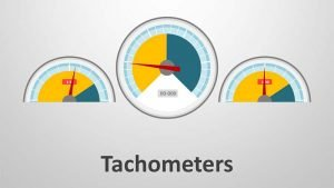 Tachometer Diagrams - Editable PowerPoint Presentation