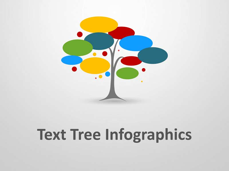 PowerPoint Presentation of Business Text Tree