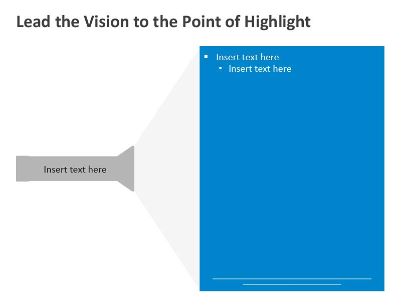 Business Vision Diagram - PowerPoint Slides