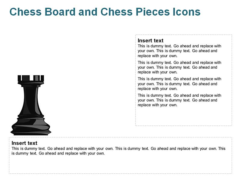 Castle Chess Cliparts for PowerPoint