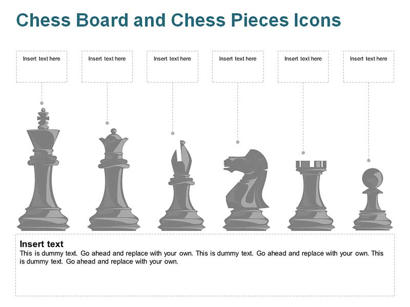 Chess Icons PowerPoint Graphics