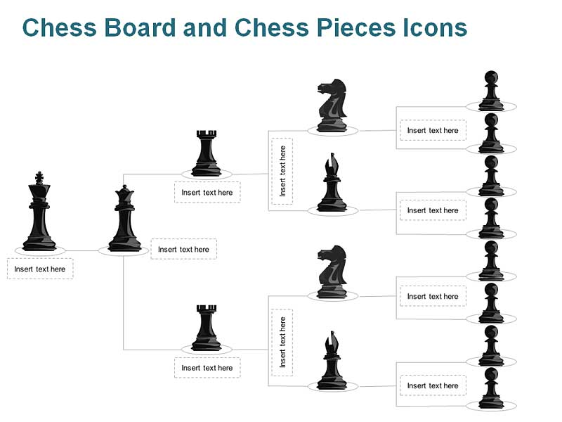 Chess Charts of PowerPoint Slide