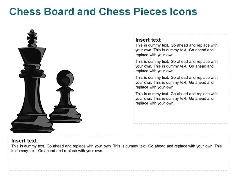 King and Pawn Pieces for PowerPoint