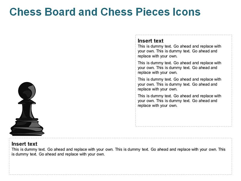 Chess Pawn Cliparts of PowerPoint