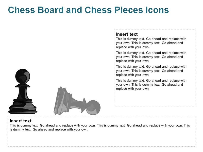 Pawn Chess Pieces for PowerPoint