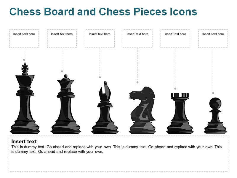 Chess Pieces of PowerPoint Slides