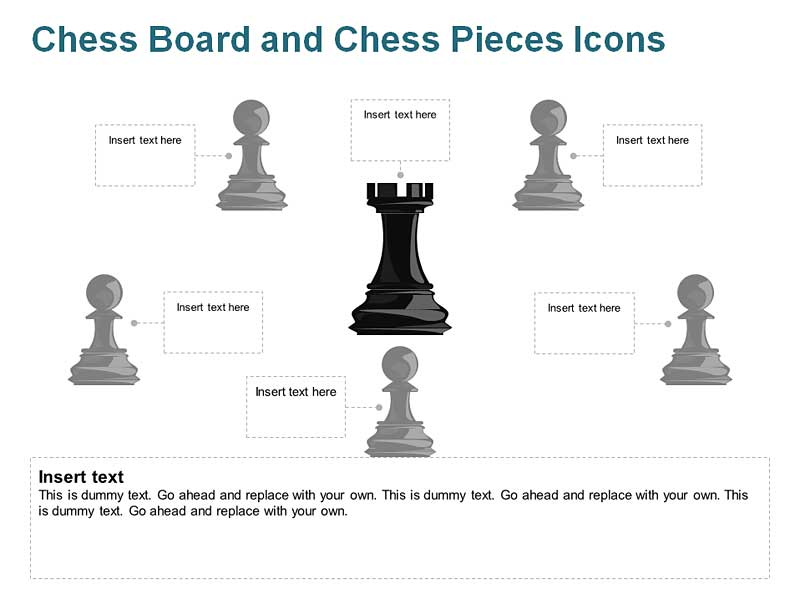 Chess Icons of PowerPoint