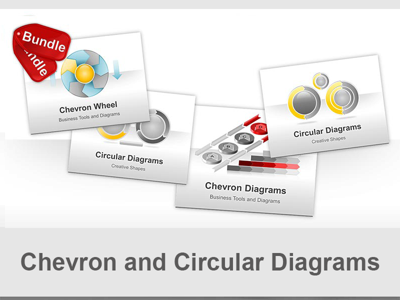 Circular Process Diagrams - Discounted PowerPoint Bundle