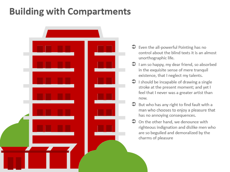 Apartment Building Image for PPT Presentations