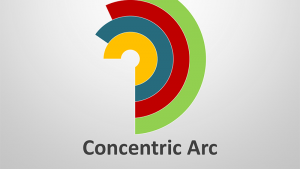 Concentric Arc - Editable PowerPoint Presentation