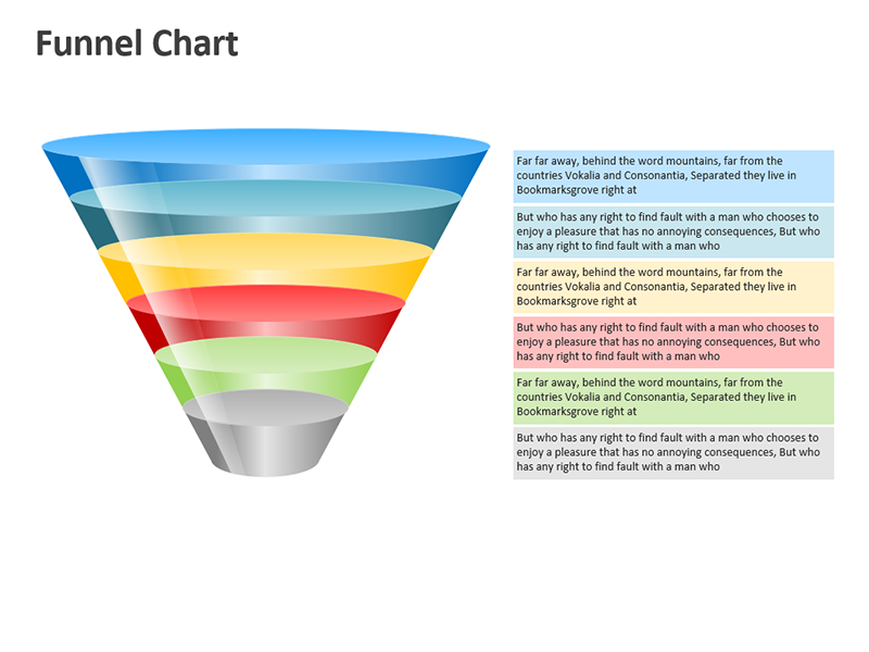 Sales Funnel Stages - PowerPoint Cliparts
