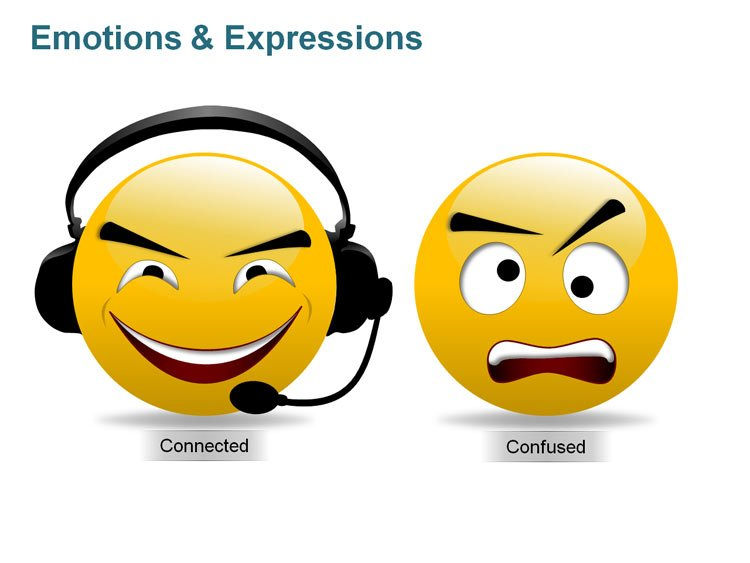 Smiley Face Expressions PPT