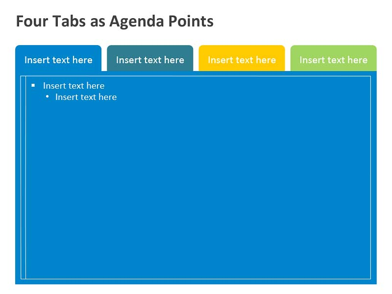 Business Agenda Template PowerPoint