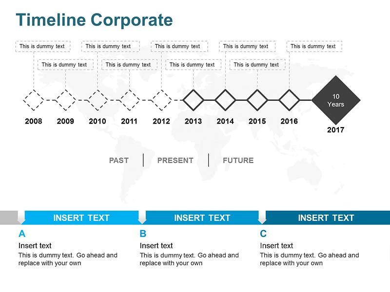 Project Timeline Diagram of PowerPoint