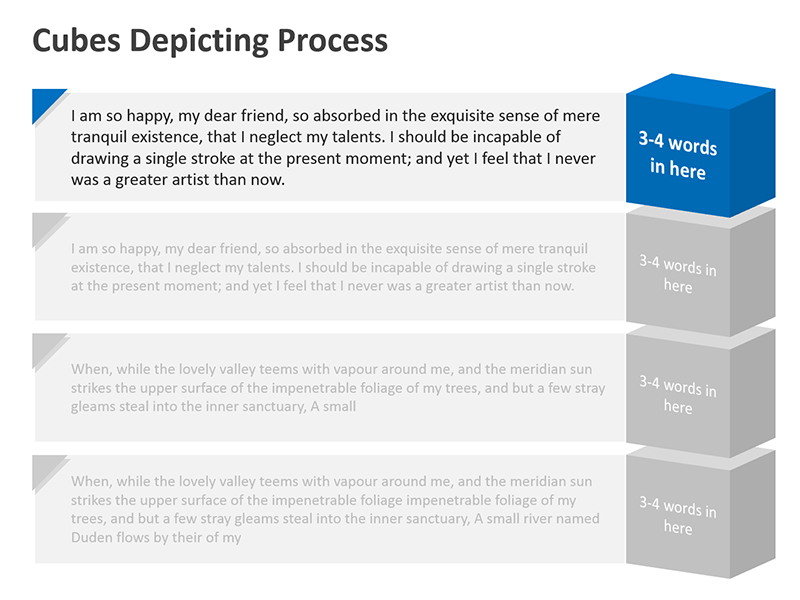 Steps Process Analysis Diagram - PowerPoint Presentation