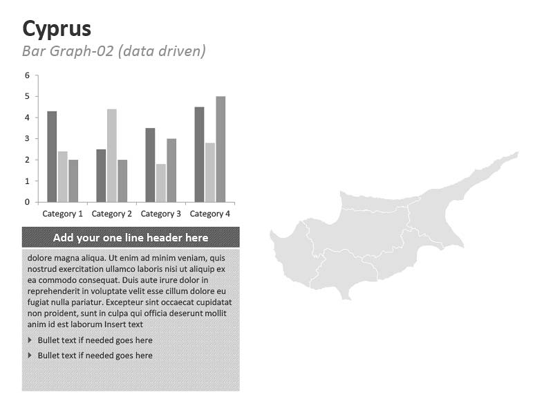 PowerPoint Presentation Cyprus Graph Map
