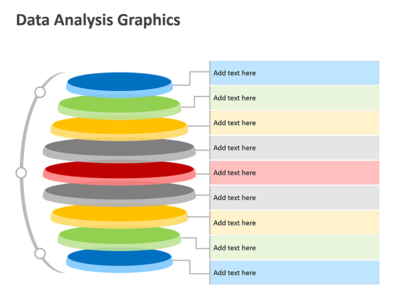 Data Analysis Illustration - PowerPoint Slide