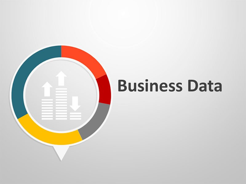 Business Data Graphics - Editable PowerPoint Presentation