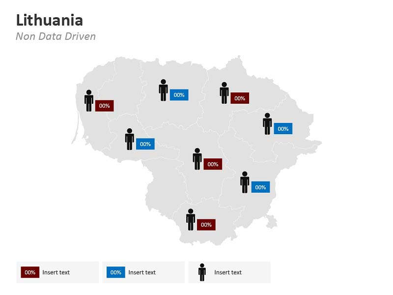 PPT Demographic Map of Lithuania