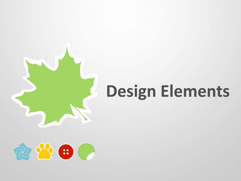 Design Elements - Editable PowerPoint Presentation