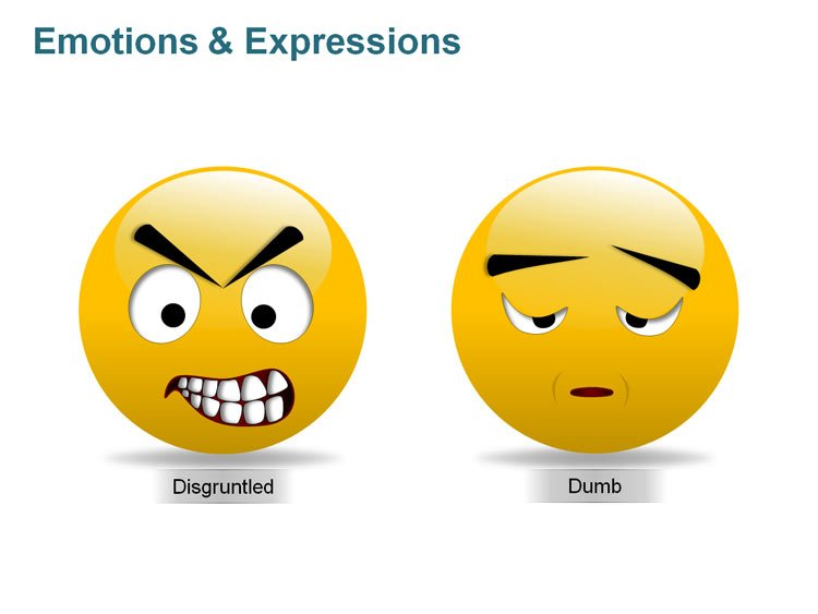 Expression Clip art Face PPT