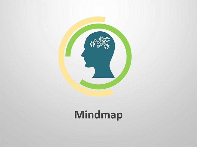 Mind Map Framework: Editable PPT Slides