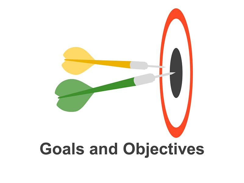 Business Goals and Objectives - PowerPoint Template