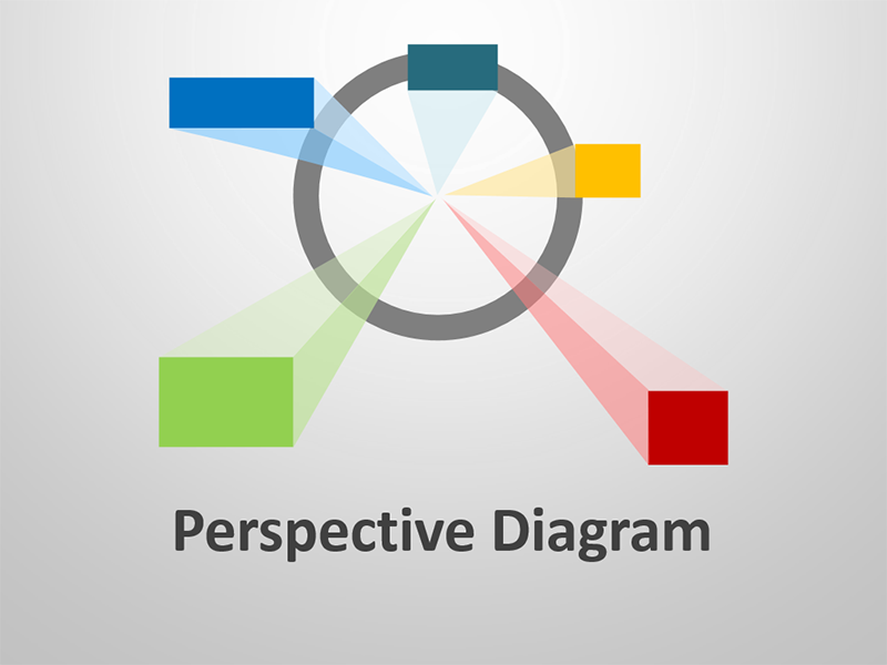 Business Perspective Diagram Editable PPT Presentation