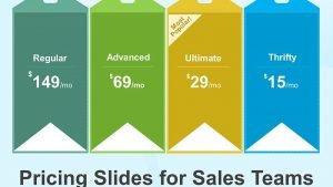 Pricing Strategy Slides for Sales Teams - PowerPoint Presentation